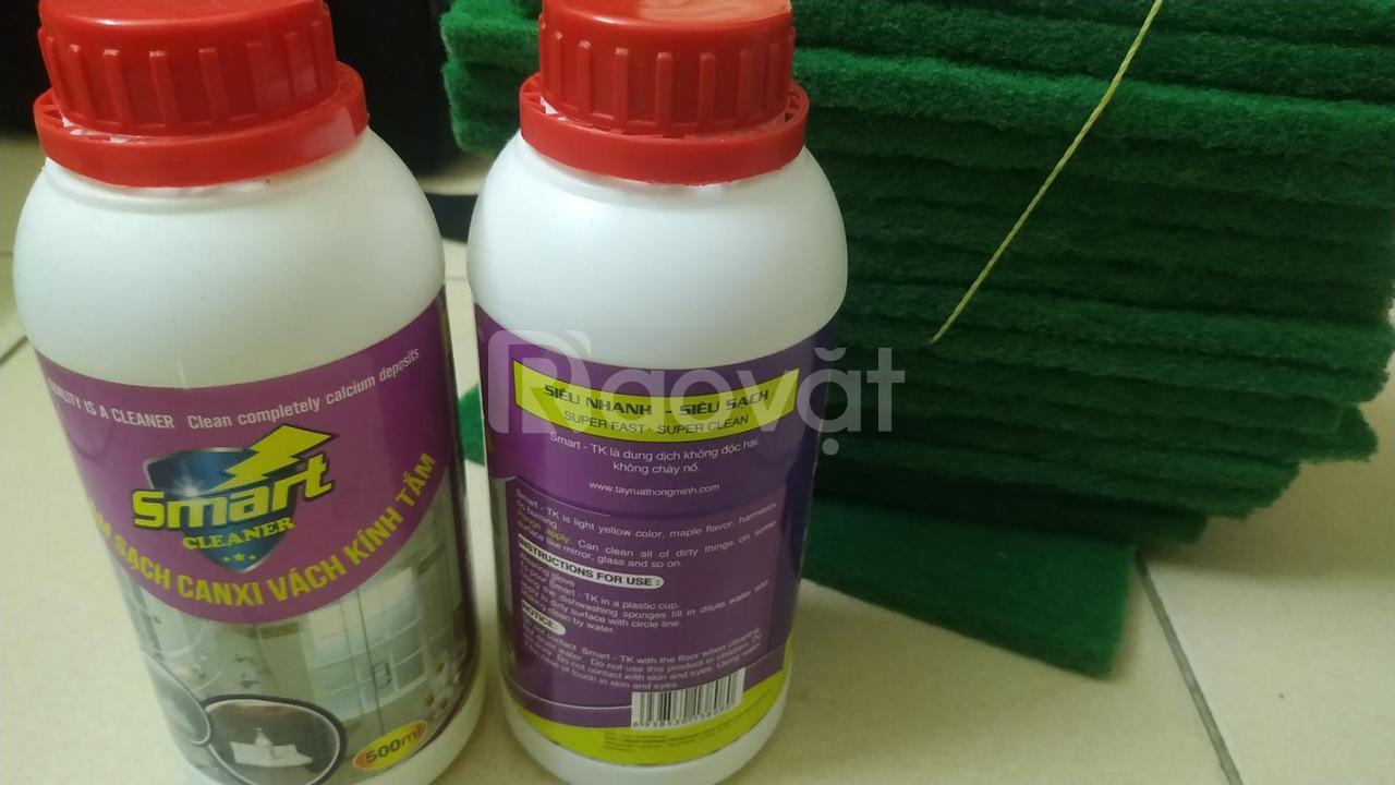 Smart Cleaner dung dịch tẩy rửa vách kính, sen vòi, bồn sứ và dầu mỡ