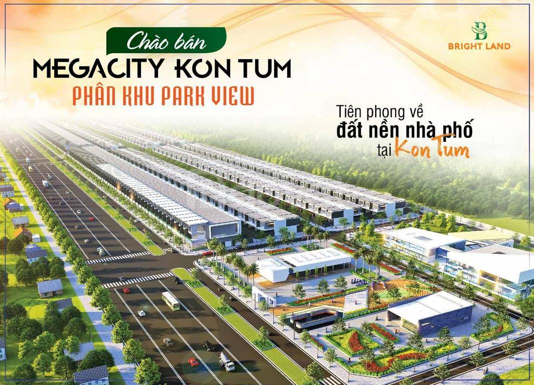 Mở bán dự án Megacity Kontum - T10/2020