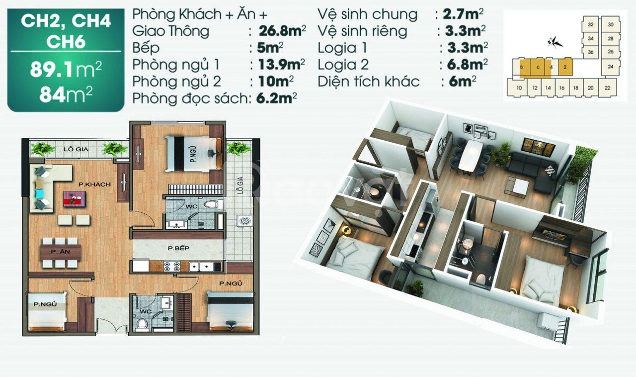 Suất ngoại giao chung cư TSG Lotus Sài Đồng của CĐT, giá tốt