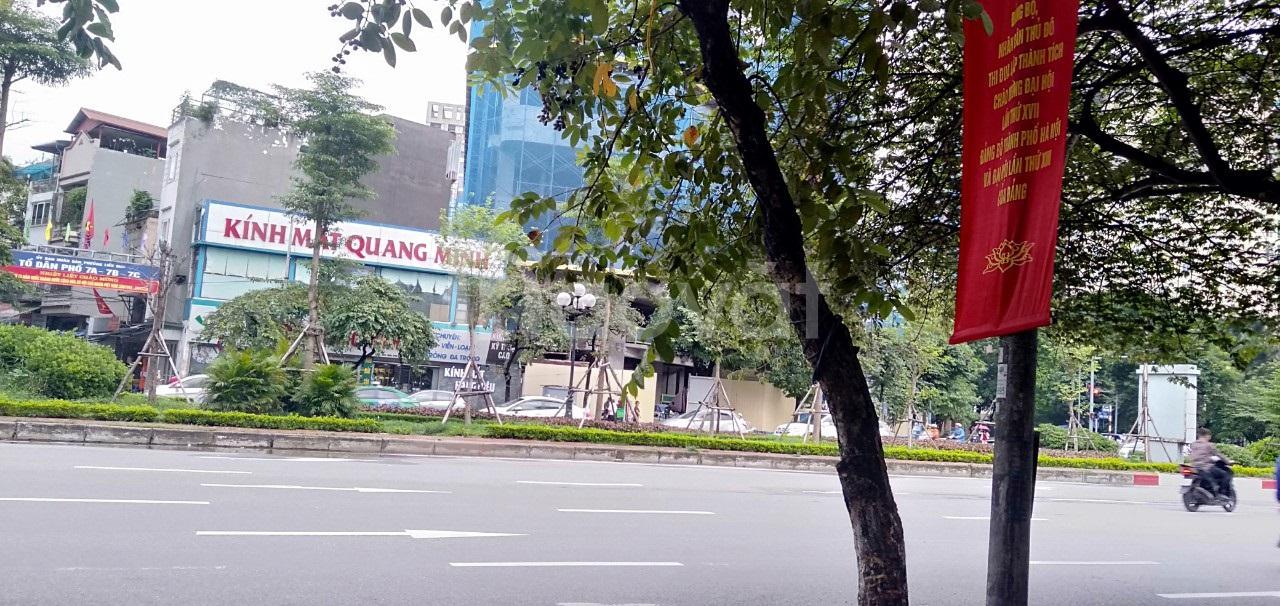 Bán nhà mặt phố Văn Cao 35m2, 4 Tầng, lô góc, MT 9m