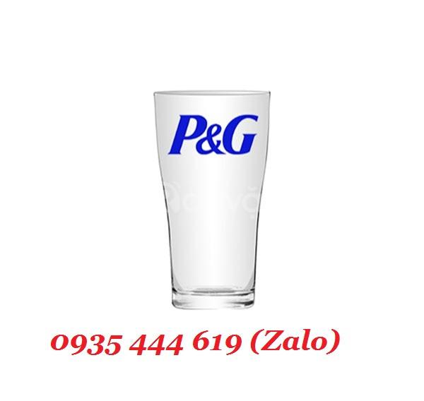 In logo lên ly thủy tinh giá rẻ tại Đà Nẵng