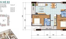 Bán căn full nội thất tòa H2, chung cư Hope Residence, 70m