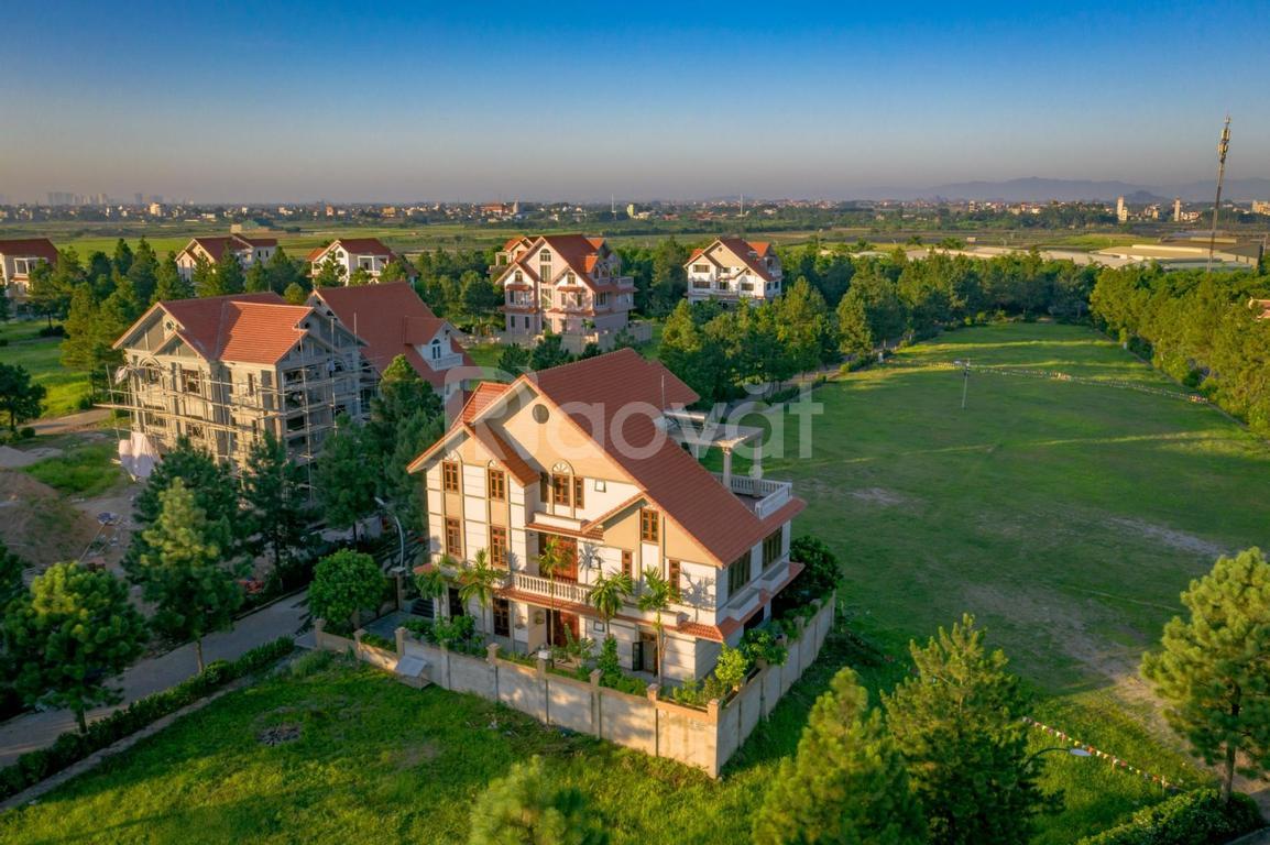 Tôi muốn bán  lô đất 400m2, biệt thự sinh thái Đan Phượng The Phoenix