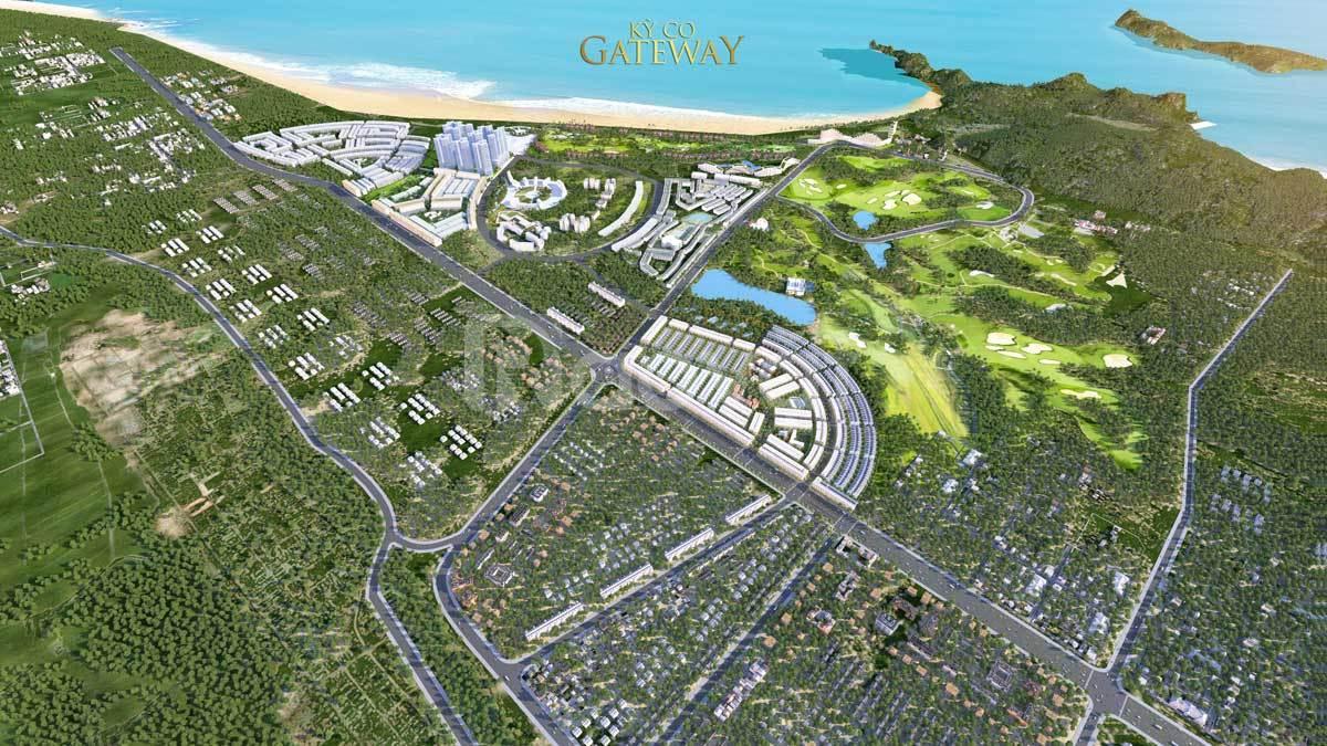 Đất nền ven biển Quy Nhơn, dự án Kỳ Co Gateway