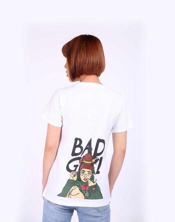 Áo thun in hình bad girl