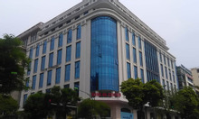 Bán nhà mặt phố Q.Cầu Giấy, tòa nhà văn phòng 280m2, 8 tầng, lô góc