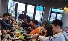Bếp nướng hút âm Hàn Quốc , bếp nướng than hoa không khói