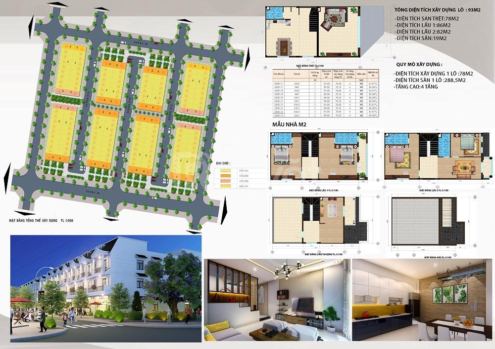 Nhà 4 tầng tại VSIP Từ Sơn, cách HN 5Km