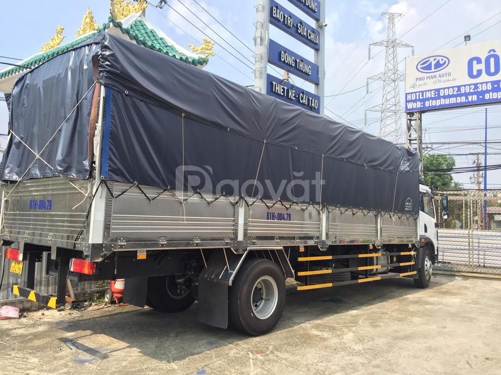 Giá bán xe tải Faw 8 tấn chiều dài lọt lòng thùng 8m2 lăn bánh