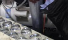 Ly thủy tinh in logo giá rẻ cho đại lý gas, cửa hàng điện thoại ở Huế