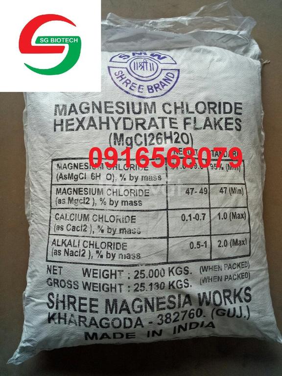 Cung cấp MgCl2 nguyên liệu dùng trong thủy sản