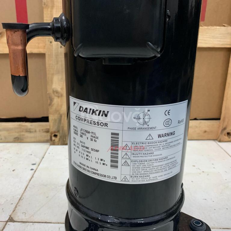 Phân phối lắp đặt máy nén lạnh Daikin 5.5HP JT170KY-1L tận nơi