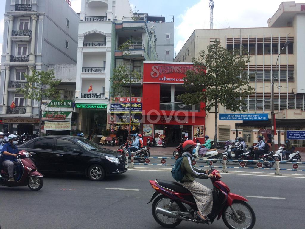 Khách sạn 18PN, MT Nguyễn Thái Học, DT 4.5x20, H + 6 T