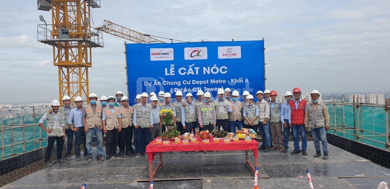Bán gấp chung cư CTL Tham Lương, Q12, TP.HCM, DT 68m2, lầu cao
