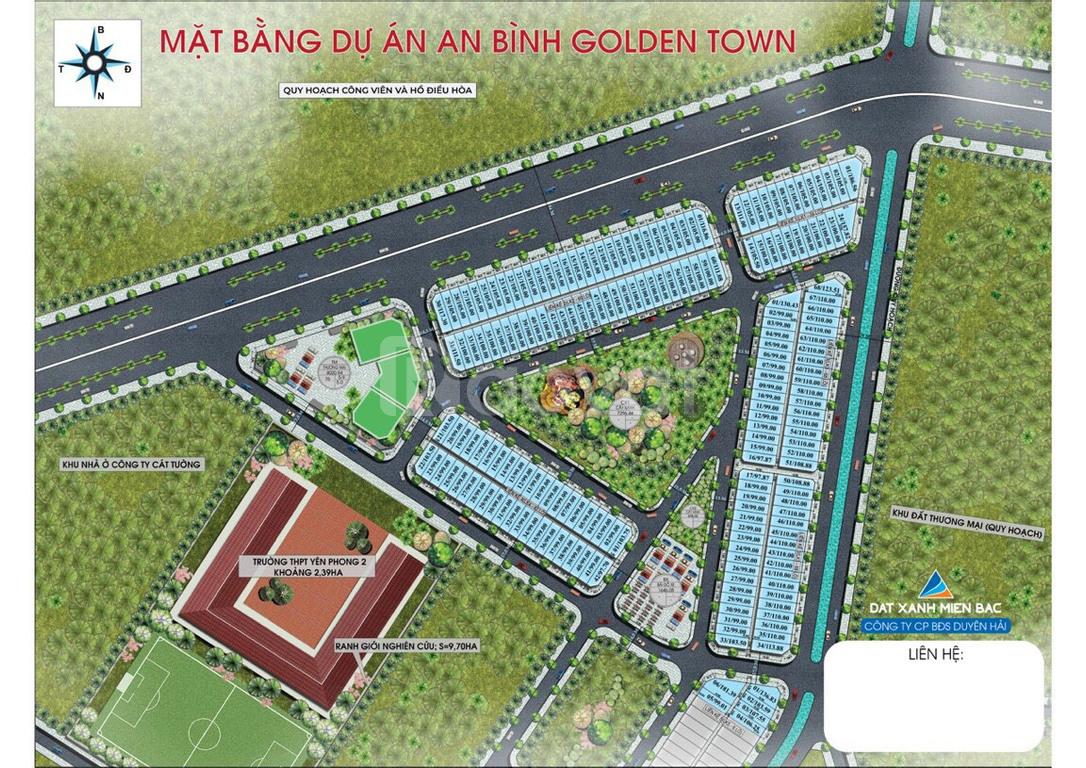 Dự án đất nền sổ đỏ tại KCN Yên Phong, Bắc Ninh