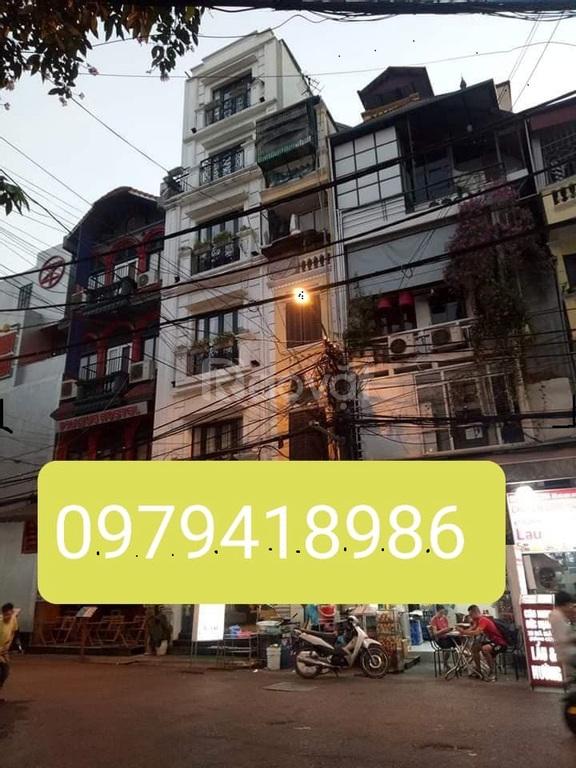 Bán nhà Phố Cổ mặt phố Mã Mây, Hoàn Kiếm 90m x 9 tầng, MT 4.5m