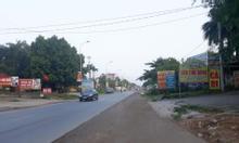 Cần bán 80m mặt đường Quốc lộ 21A, khu Hòa Lạc, Quốc Oai