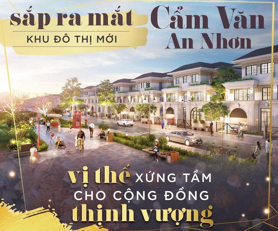 Khu đô thị Cẩm Văn, giá bán hấp dẫn cùng tiện ích, hiện đại