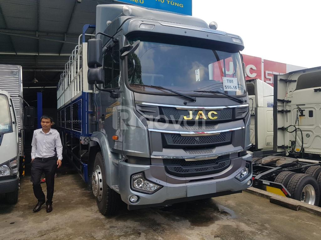 Giá xe tải jac 8 tấn, thùng dài 9.5, mét nhập khẩu 2020