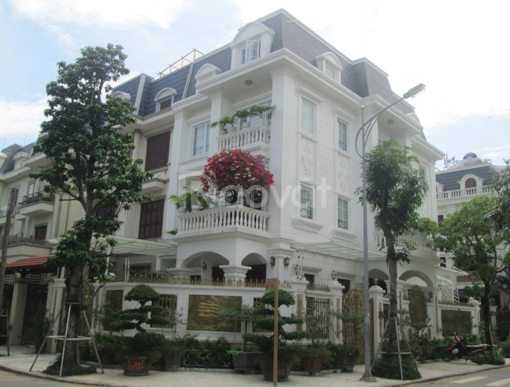 CC bán biệt thự E88 KĐT Đại Kim, lô góc view công viên 168m2x4T