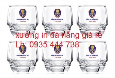 Thủy tinh in ấn chất lượng, thủy tinh giá xưởng tại Quảng Nam
