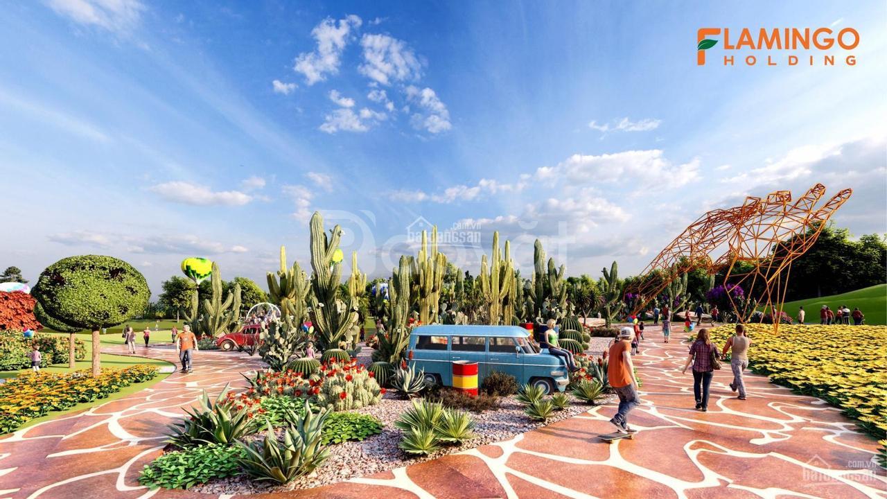 Biệt thự song lập view sân golf Flamingo Đại Lải