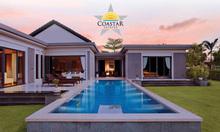 Biệt thự biển Coastar Estates Hồ Tràm, DT 1075m2