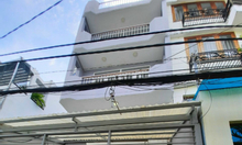 Nhà 1 trệt, 1 lửng, 2 lầu sân thượng mặt tiền hẻm