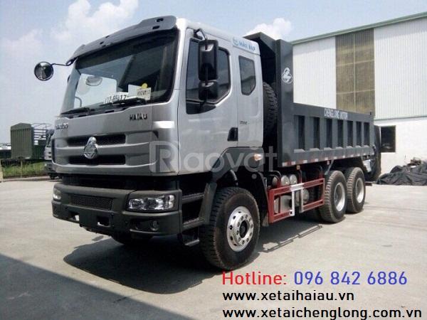 Bán xe tải ben Chenglong 3, 4 chân cầu