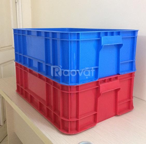 Thùng nhựa B1, thùng nhựa đặc công nghiệp đựng linh kiện