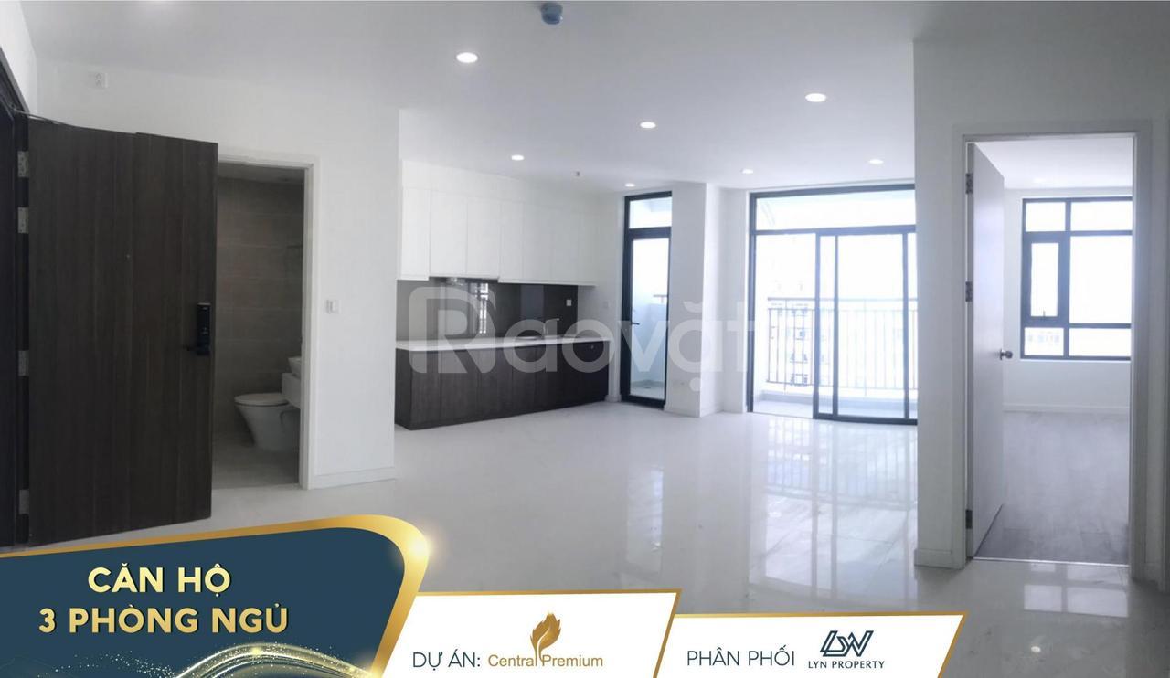 Căn hộ Central Premium Tạ Quang Bửu, 87m2 3PN, căn góc, nhận nhà ngay
