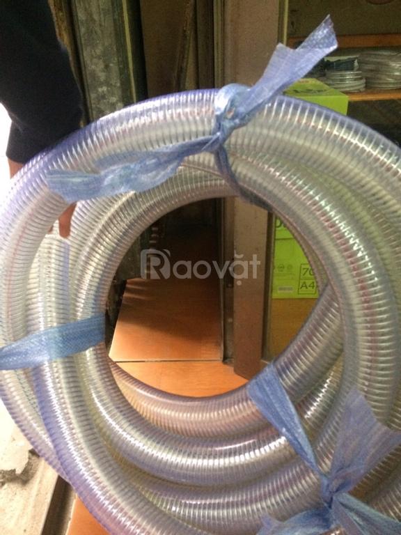 Ống nhựa mềm lõi thép dẫn nước sạch DN76, DN90, DN100