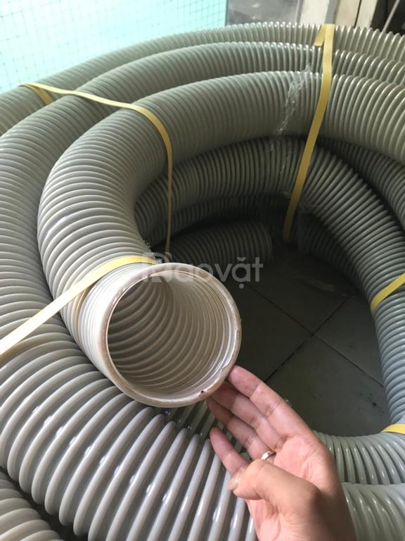 Ống hút bụi gân nhựa D100 hàng có sẵn sll