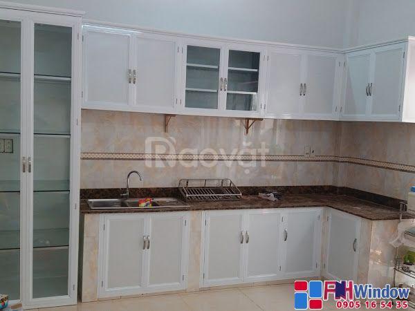 Đơn vị làm tủ nhôm, tủ kính, tủ bếp nhôm kính đẹp giá rẻ tại Đà Nẵng
