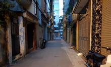 Bán đất Tân Mai, Hoàng Mai, 56m2, lô góc, 2 mặt ngõ