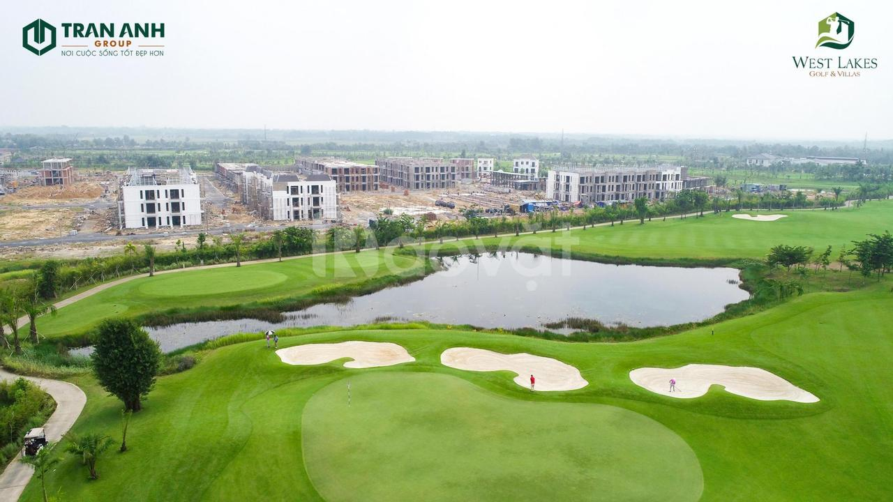 Biệt thự trong sân Golf West Lakes & Villas