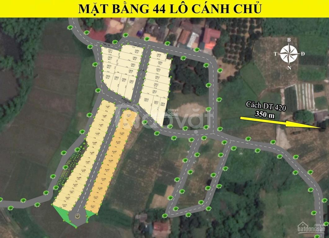 Bán đất Hòa Lạc cách khu công nghệ cao 600m, Bình Yên, Thạch Thất