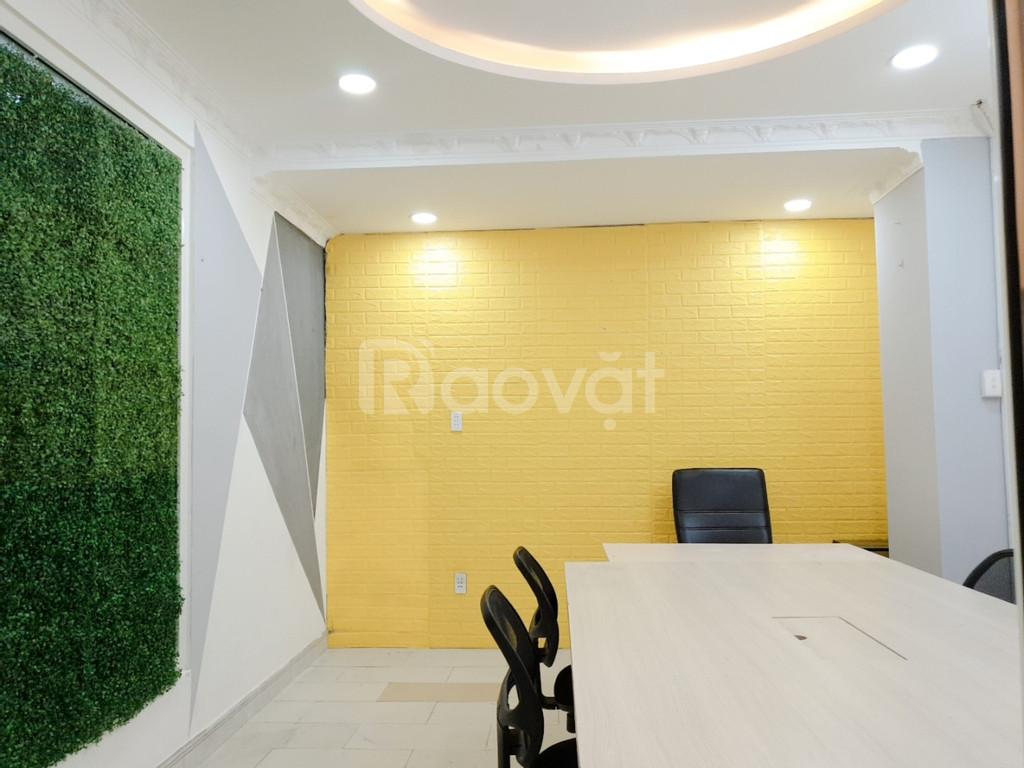 Văn phòng mini/online HXH 45 Nguyễn Bặc, full nội thất, giá tốt