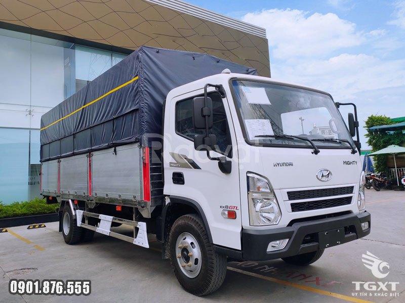 Xe tải Hyundai EX8 GTL thùng dài 5m8, giá tốt, hỗ trợ vay cao