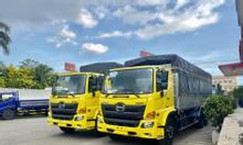 Xe tải HINO FL8JW7A, thùng mui bạt 9m4, tải 14.3 tấn, KM phí trước bạ