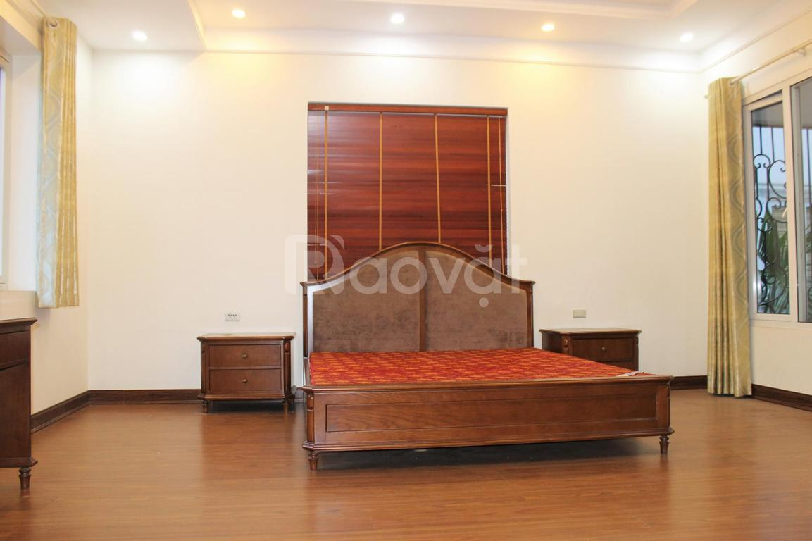 Cho thuê biệt thự song lập đủ đồ khu Anh Đào tại Vinhomes Riverside, Long Biên, Hà Nội