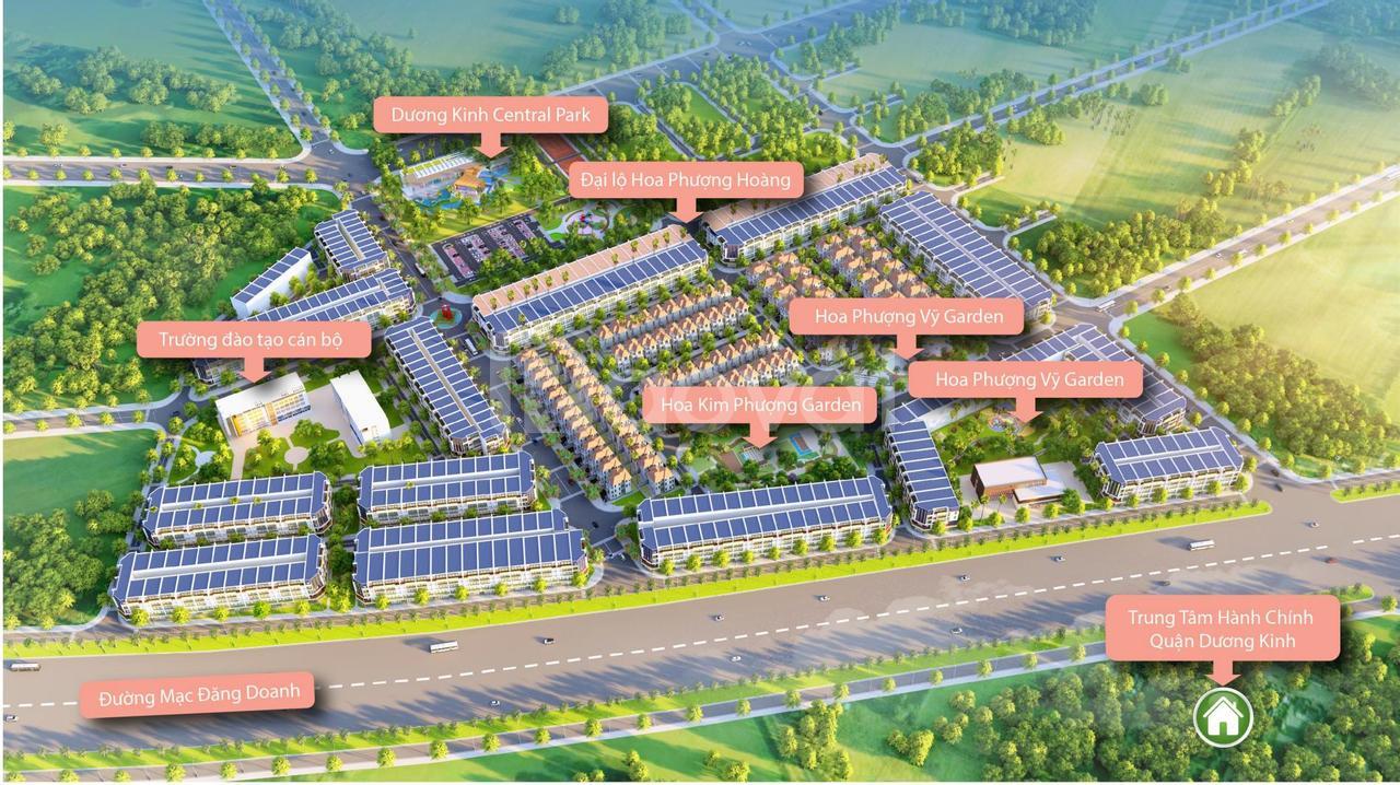 Đất nền Dương Kinh New City, TP.Hải Phòng