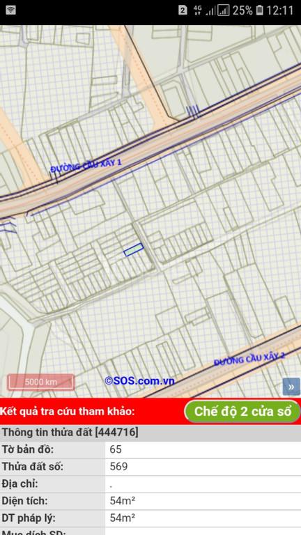 Bán nhanh lô đất 659 đường Cầu Xây 1, phường Tân Phú, quận 9