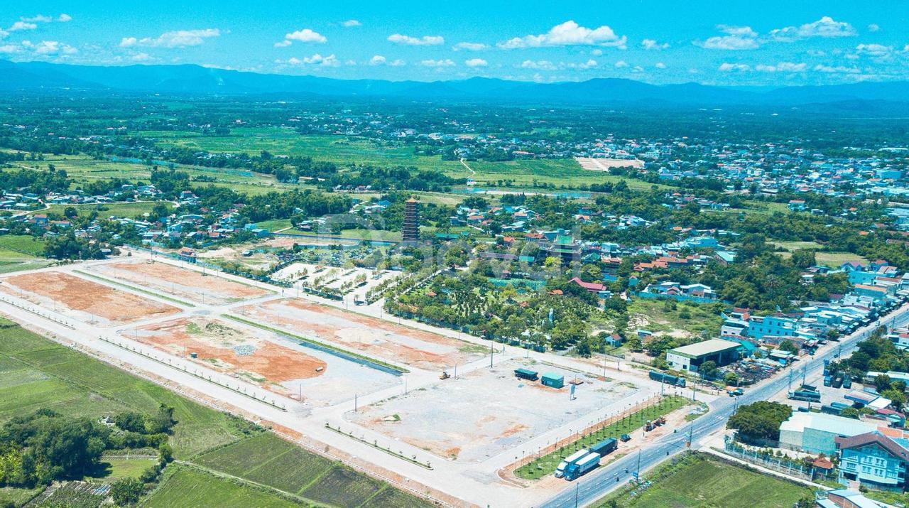 Đất nền khu đô thị Cẩm Văn, An Nhơn