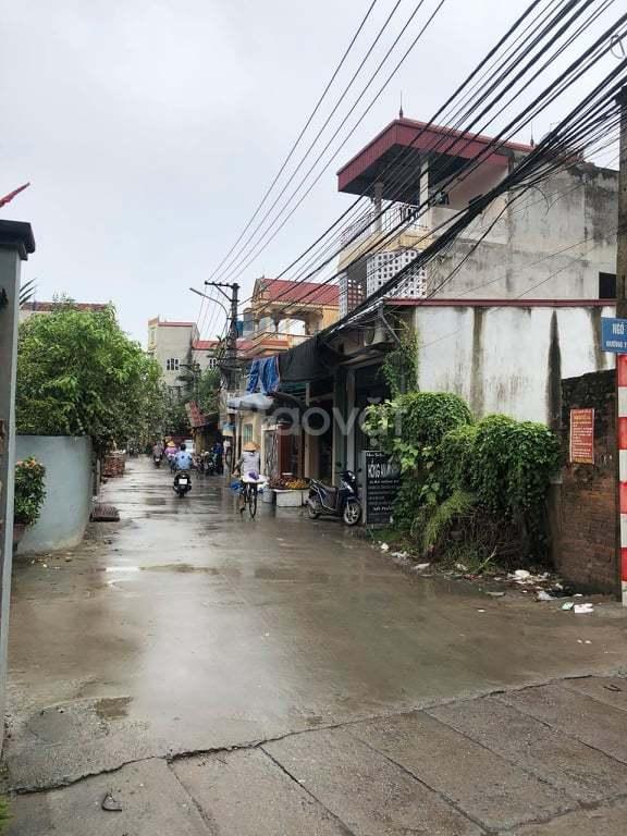Bán đất 39,9m2 mặt đường trục chính Yên Vĩnh, Kim Chung, Hoài Đức