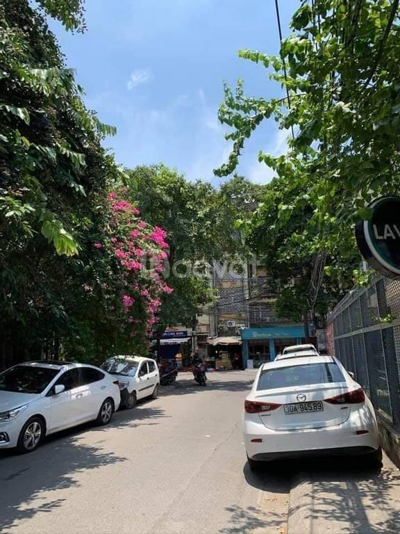 Nhà phân lô, ô tô đỗ cửa, Vũ Tông Phan, kinh doanh nhỏ