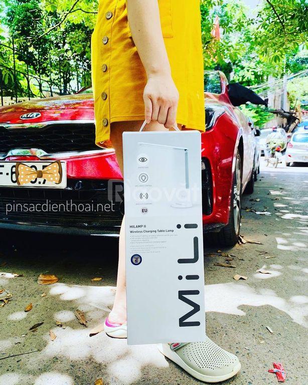 Đèn bàn kiêm đế sạc không dây MiLamp II HL-S20WE