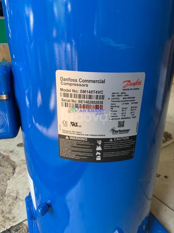 Block Danfoss SM148T4VC 12 HP chất lượng chính hãng