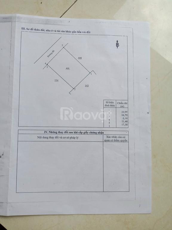 Nhà thổ cư, thuận tiện KD, giá đầu tư ở Đ.Hồ Xuân Hương, TT Vĩnh An