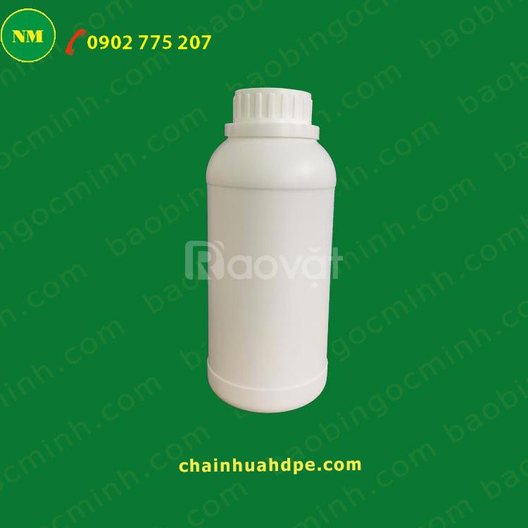 Cần thanh lý chai nhựa đựng hóa chất, nhựa rỗng hdpe